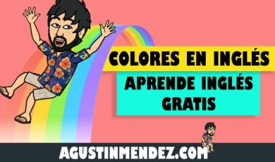 Todos los colores en inglés y español y su pronunciación