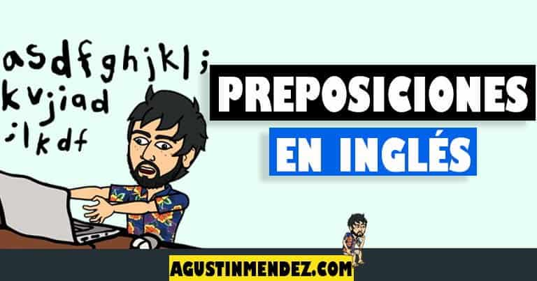 preposiciones en ingles y español mas comunes